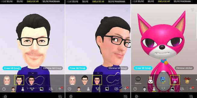 Los AR Emojis del S9 Plus. (M.Mcloughlin)
