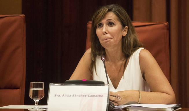 La expresidenta del PPC, Alicia Sánchez Camacho. (EFE)