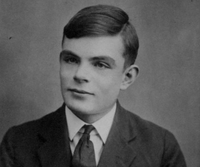Retrato de Alan Turing, con 16 años. (Wikipedia)